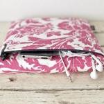 iPad Case - Pink Black Bird Parakee..