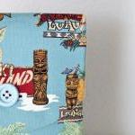 iPad Case - Tiki Island Blue Palm T..