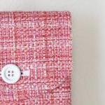 iPad Case - Pink Tweed