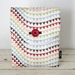 iPad Case - Vintage Banners - Padded with Pocket